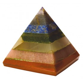 Chakrapyramide 4x4cm
