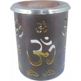 Teelicht-Lampe aus Kupfer