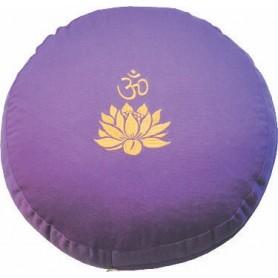"""Meditationskissen mit Inlet """"Lotus Om"""" Baumwolle(80%)"""