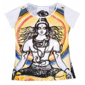 """Damen T-Shirt """"Shiva"""" 100% Baumwolle Größe M"""