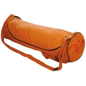 """Yoga Tasche """"Om"""" Baumwolle orange"""