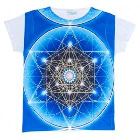 "Damen T-Shirt ""Metatron"" 65% Baumwolle"