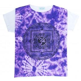 "Damen T-Shirt ""Om Yantra"" 65% Baumwolle"