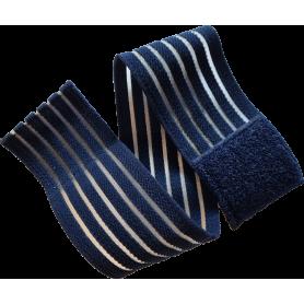 Fixier-, Klett-, & Befestigungsband elastisch - 40 x 5 cm - für TimeWaver, Healy & Elektro & Tens - Stimulationsgeräte