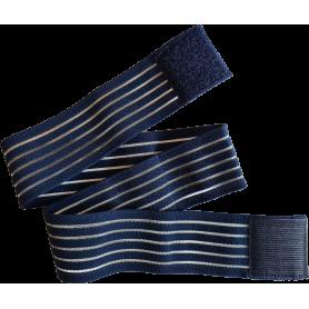 Fixier-, Klett-, & Befestigungsband elastisch - 80 x 5 cm - für TimeWaver, Healy & Elektro & Tens - Stimulationsgeräte