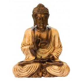"""""""Buddha mit Mudra der Lehre"""" Resin 25cm"""