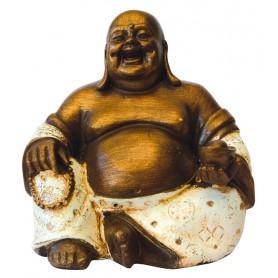 """Lachender Buddha"" Resin 15cm"
