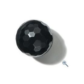 Gebohrte Kugel - Onyx facettiert (12,16,20mm)