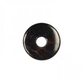 Donut rund - Granat ( 30 oder 40 mm)