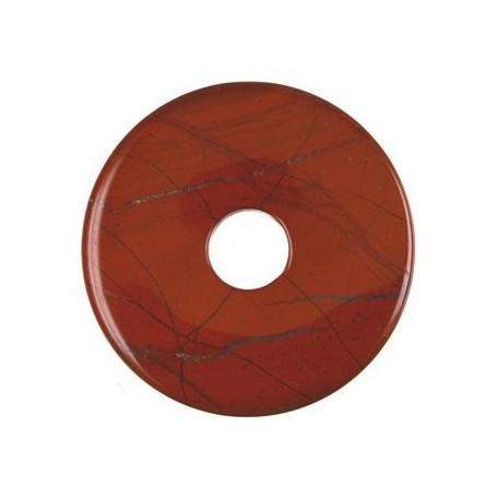 Donut rund - Jaspis (rot) ( 15,30,40 oder 50 mm)