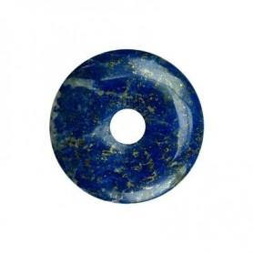 Donut rund - Lapis Lazuli A Qualität - 40 mm