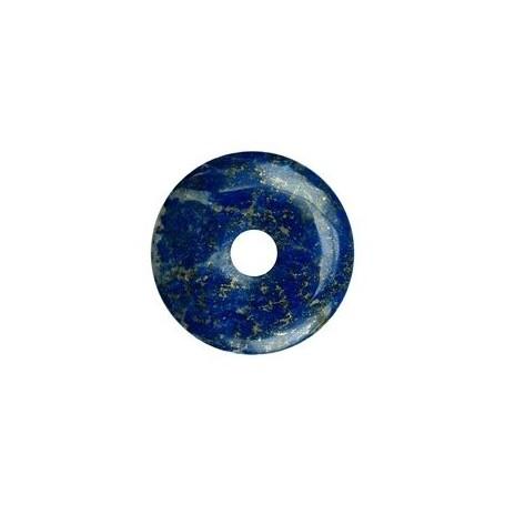 Donut rund - Lapis Lazuli AA Qualität - 30 mm