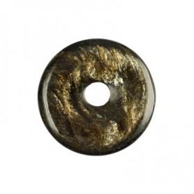 Donut rund - Nephrit ( 30 oder 40 mm)