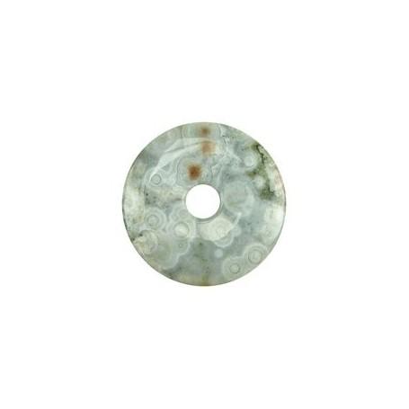 Donut rund - Ozean Jaspis ( 30 oder 40 mm)