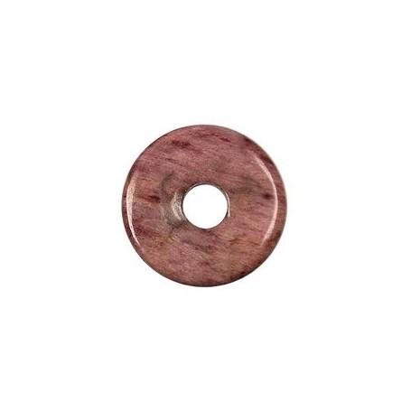 Donut rund - Piemontit-Quarz ( 30, 40 oder 50 mm)