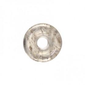 Donut rund - Rauchquarz ( 30 oder 40 mm)