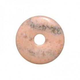 Donut rund - Rhodochrosit ( 40 oder 50 mm)
