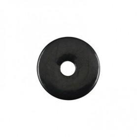 Donut rund - Schungit ( 30, 40 oder 50 mm)