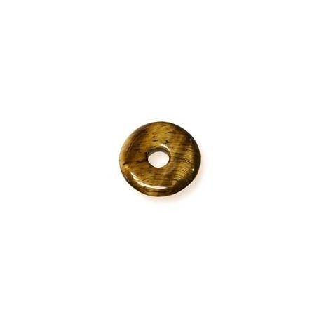 Donut rund - Tigerauge- (15,30 oder 40 mm)