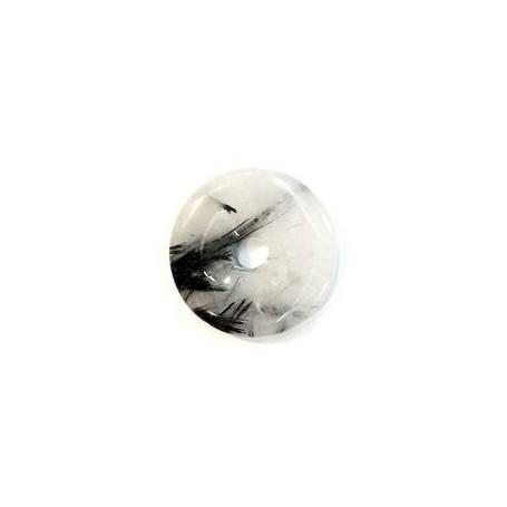 Donut rund - Turmalinquarz - 25,30 oder 35 mm