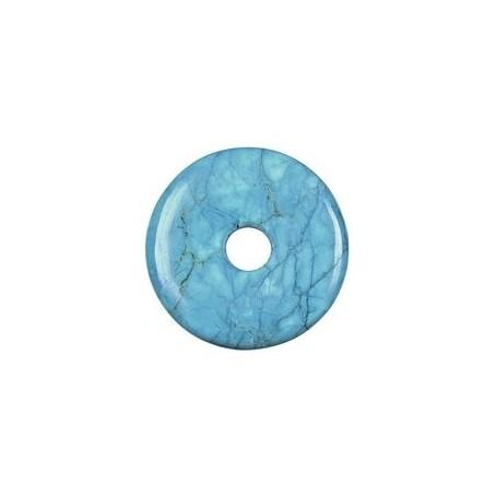 Donut rund - Turquenit (Magnesit gefärbt) - 30,40 oder 50 mm