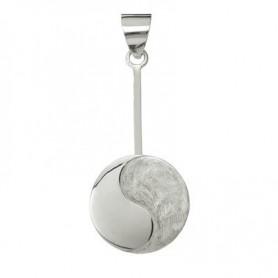 Donuthalter -Ying-Yang- in Silber für 30-40mm Donut