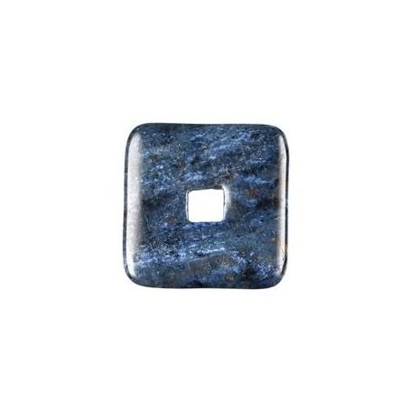 Donut quadratisch -Dumortierit- - 30 oder 40 mm