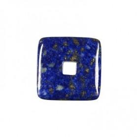 Donut quadratisch -Lapis Lazuli- - 30 oder 40 mm