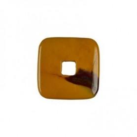 Donut quadratisch -Mookait- - 30 oder 40 mm