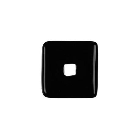 Donut quadratisch -Onyx- - 30 oder 40 mm