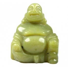 Buddha Serpentin (China Jade), 4cm
