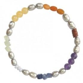 Armband -Chakra- Pearl